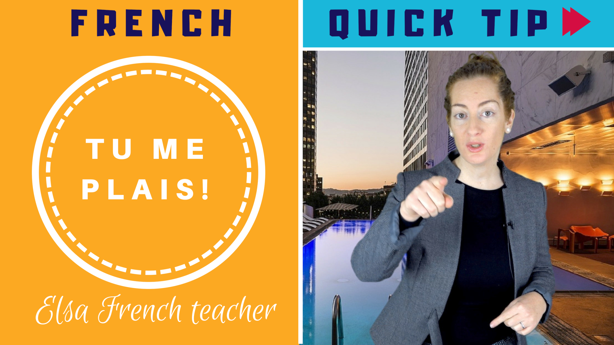 How To Use The Verb Plaire In French Elsa French Teacher