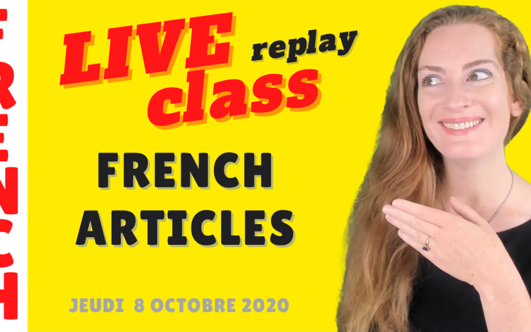 French articles – Les articles en français