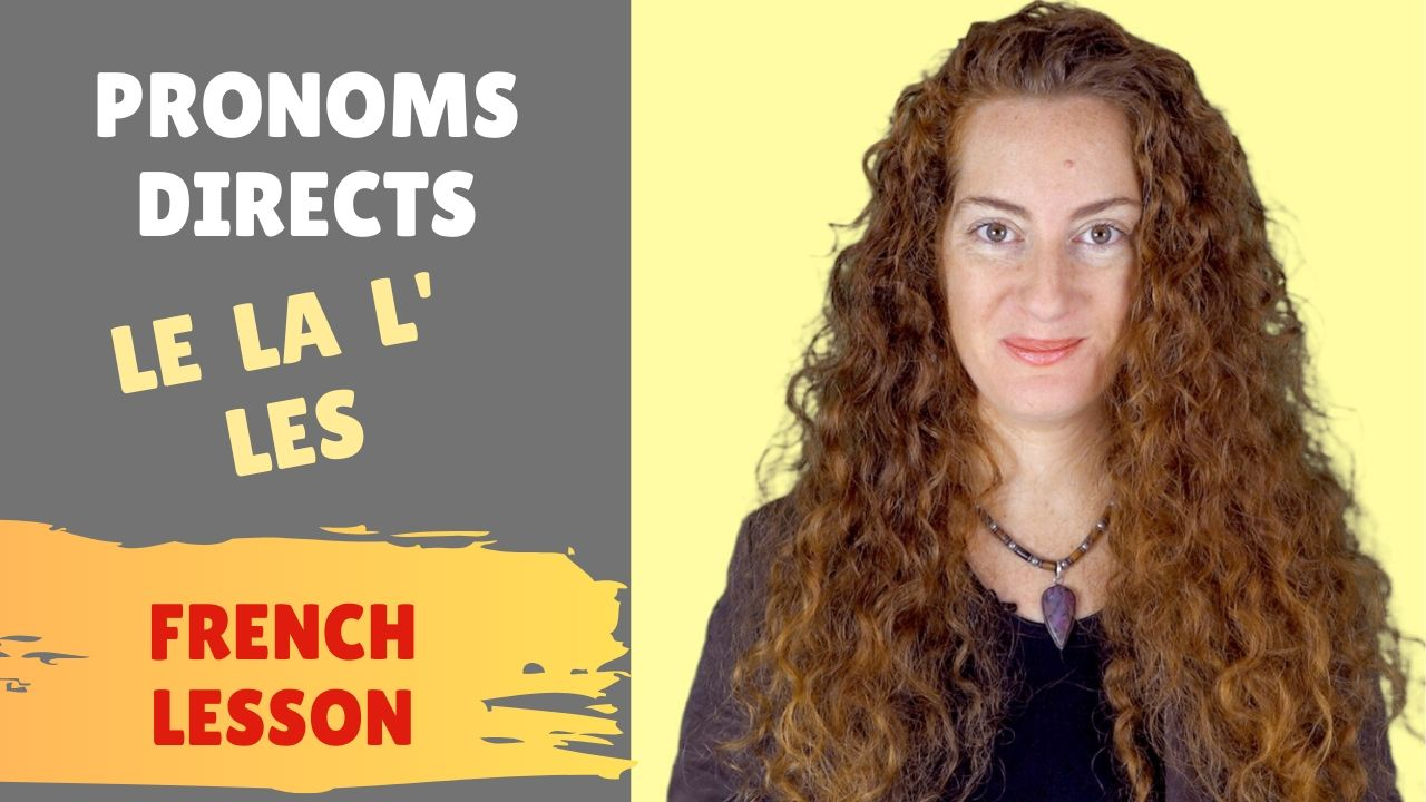 Pronoms directs
