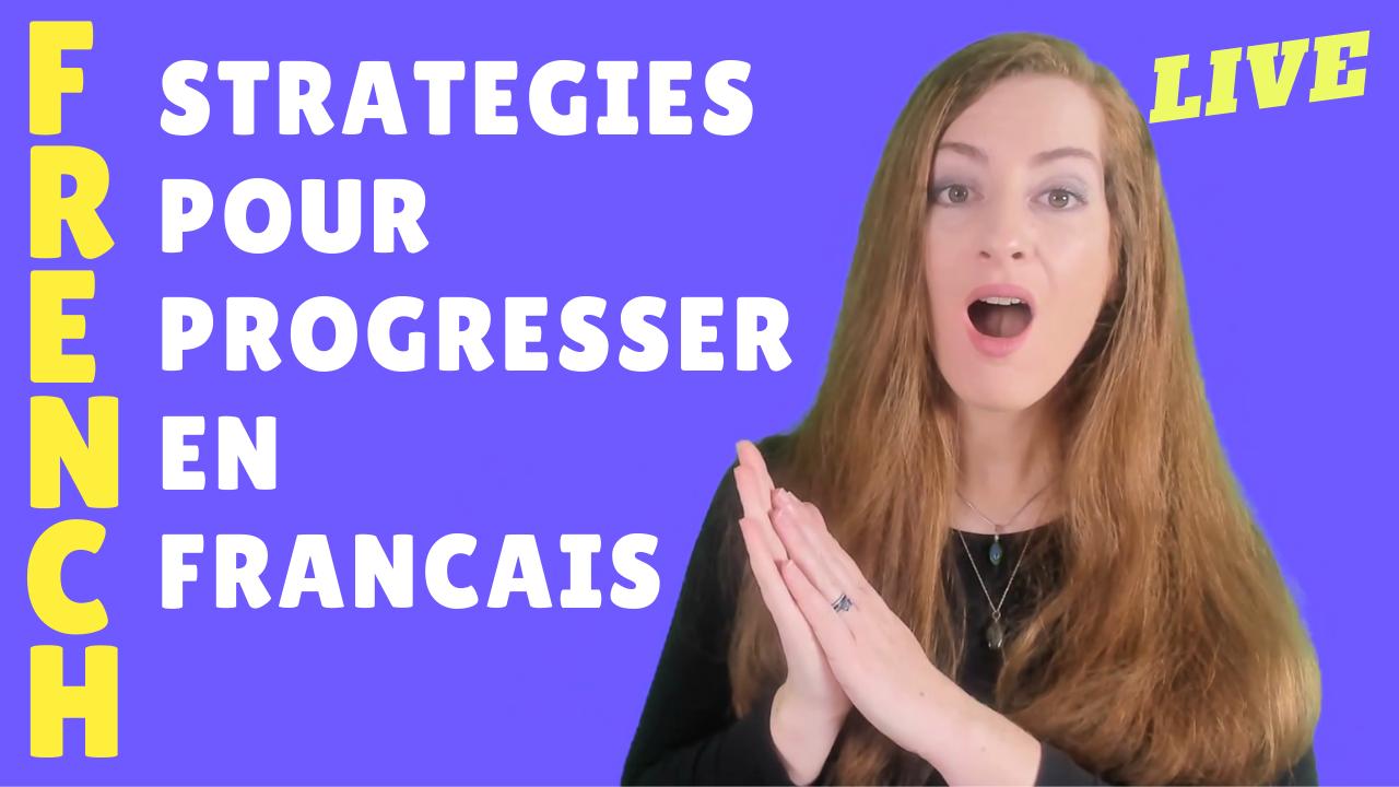 stratégies pour apprendre le francais